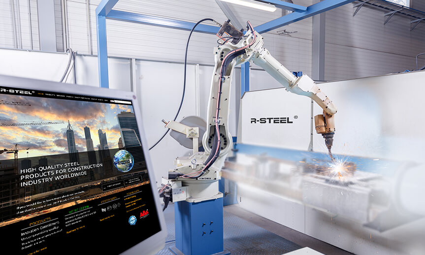 manufacturing robots, bmw robots, robots making cars, Robot Welding Production Line
